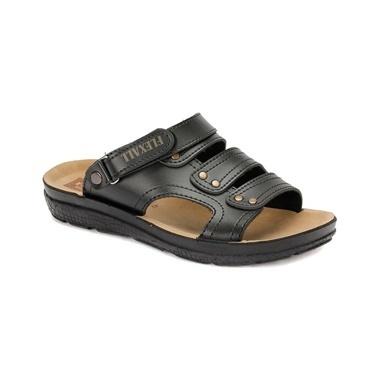 Flexall Sandalet Siyah